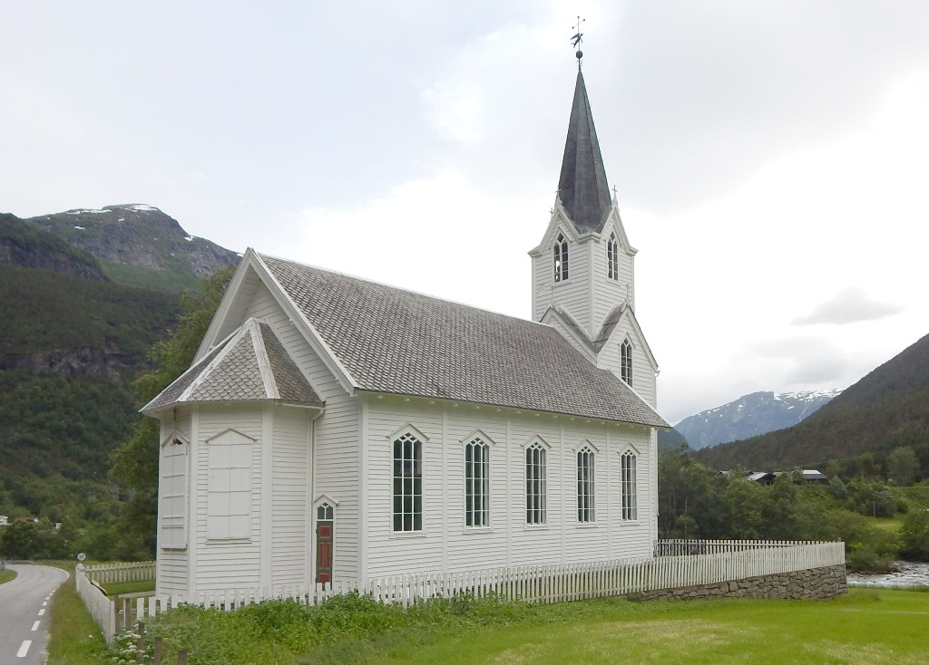 norwegian_white_wooden_church